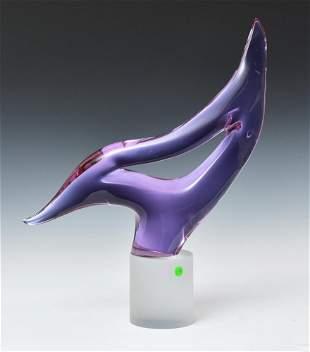 Murano Seguo Art Glass Sculpture
