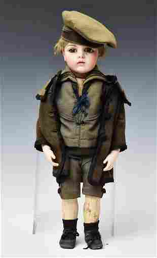French Bru Sailor Boy Doll