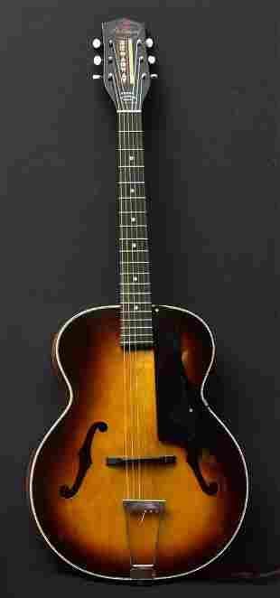 Harmony H954 Broadway Sunburst Guitar