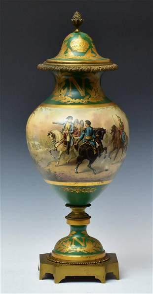 Sevres Style Napoleonic Urn