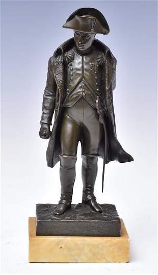 Bronze Figure of Napoleon Standing