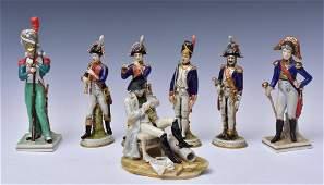German Porcelain Military Figures (7)