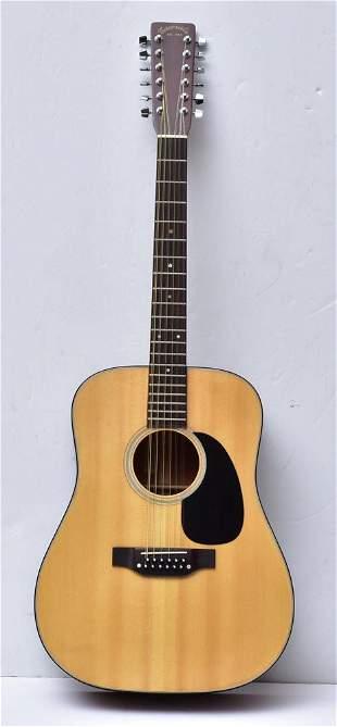 Takamine F385 Acoustic 12 String Guitar