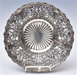 J. E. Caldwell Sterling Silver Footed Bowl