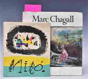 Joan Miro and Marc Chagall Books