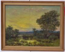 Two Art Works: Harry Allchin & American School