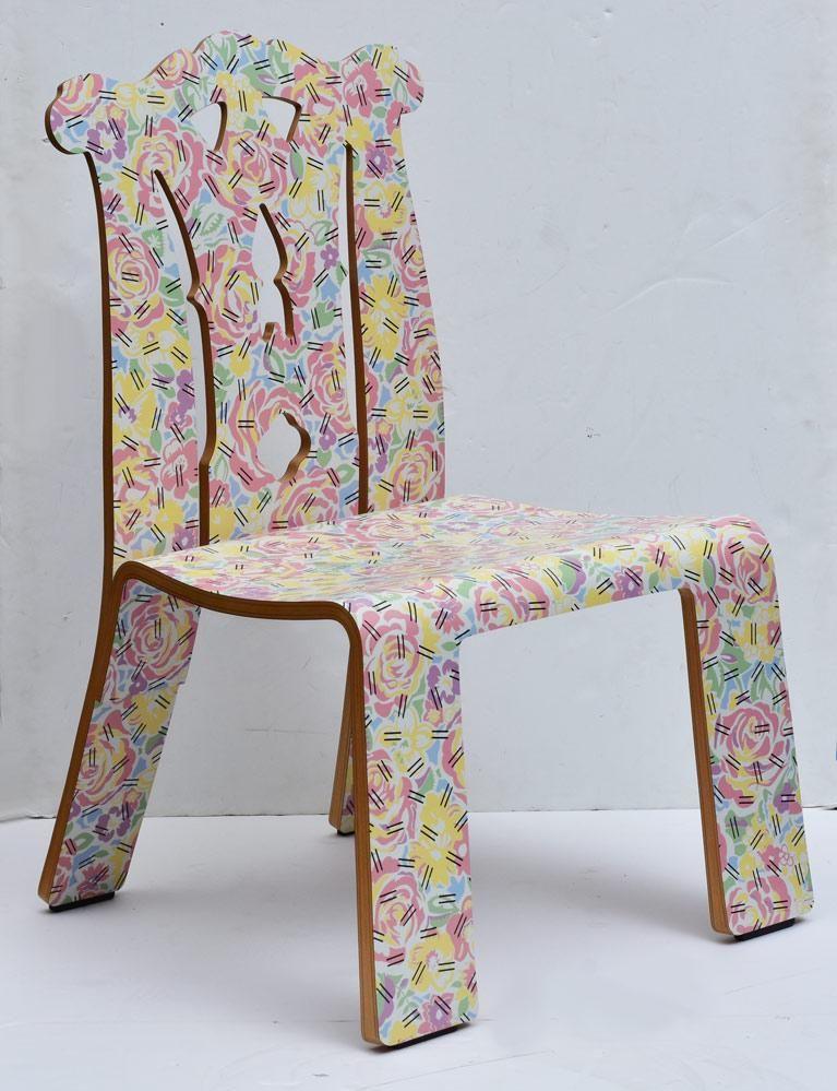 Robert Venturi for Knoll Chippendale chair