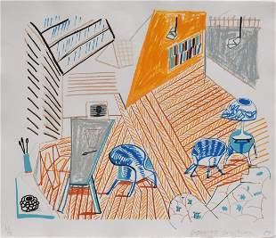 David Hockney Lithograph