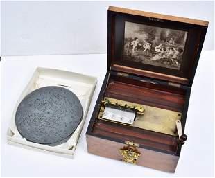 Victorian Polyphone Music Box