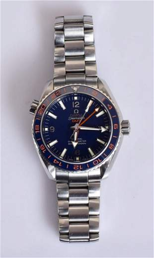 Omega Seamaster GMT Planet Ocean Wrist Watch