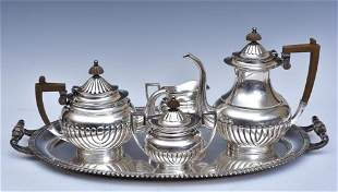 Miyata Sterling Silver Tea Set