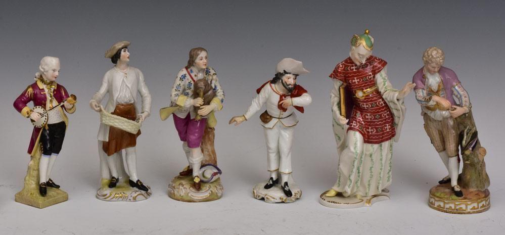 German Porcelain Figures (6)