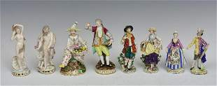 Continental Porcelain Figures (8)