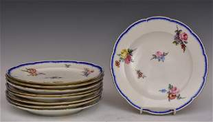 Sevres Porcelain Plates (9)