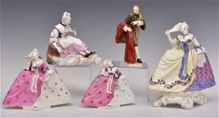 German Porcelain Figures (5)