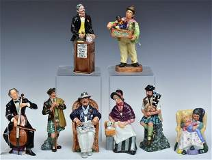 Royal Doulton Figurines (8)