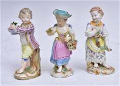 Three German Porcelain Figures