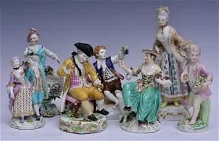 Continental Porcelain Figures (7)