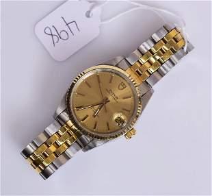 Rolex Tudor Two-Tone Gent's Wrist Watch
