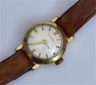 14k Gold Longines Ladies Watch