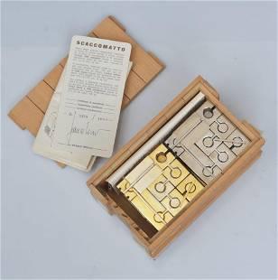 Scaccomatto Chess Set By Franco Rocco