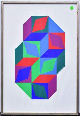Victor Vasarely Lithograph