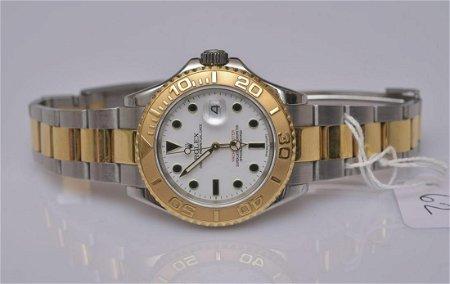 Rolex Yacht Master Chronometer Wrist Watch