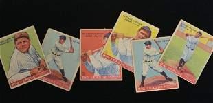Estate Collection 1933-1935 Baseball Cards