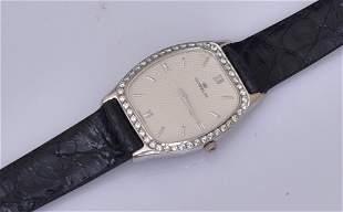 18k Gold Gubelin Diamond Ladies Wrist Watch