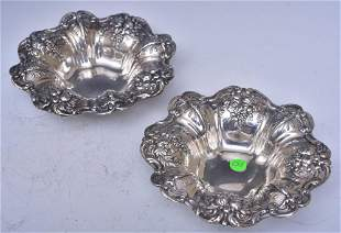 Reed & Barton Sterling Silver Candy Dishes