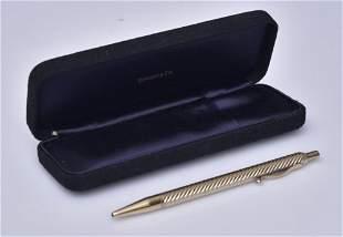 Tiffany & Co 14k Gold Pen