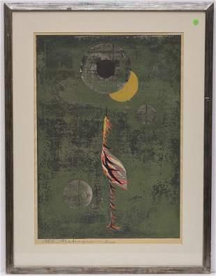 Tadashi Nakayama Woodblock Print