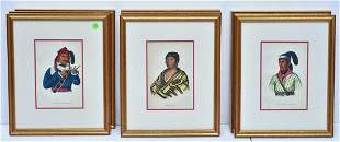 McKenney & Hall Native American Lithographs