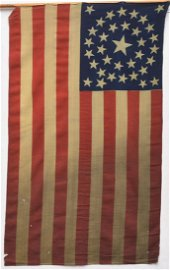 Civil War Silk Parade Flag