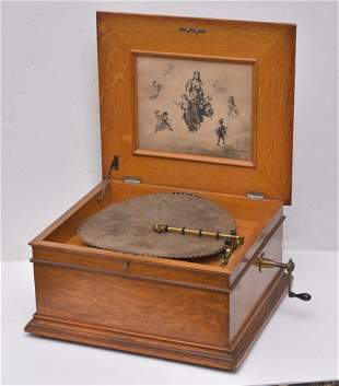 Regina Disk Music Box