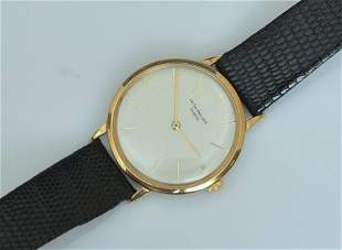 Patek Philippe Calatrava 18k Gold Wrist Watch