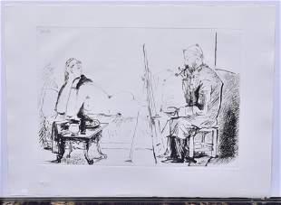 Pablo Picasso Lithograph Marina Picasso Edition