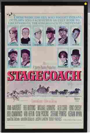"""Norman Rockwell """"Stage Coach"""" Movie Poster"""