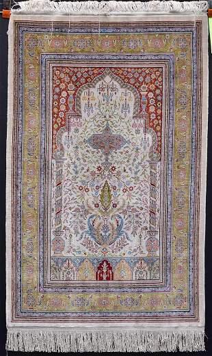 Silk Prayer Rug