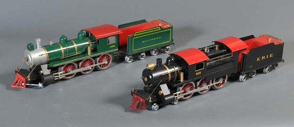 10: CLASSIC MODEL TRAINS Erie 915 with four cars and So