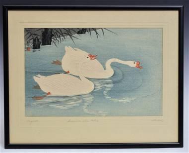 Ohara Shoson Japanese Woodblock Print
