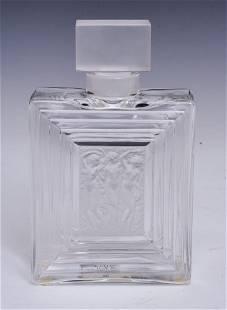 """Lalique """"Duncan"""" Perfume Bottle"""