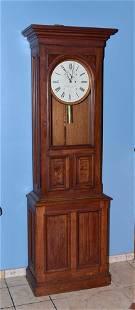 E. Howard & Co. Regulator Walnut Floor Clock