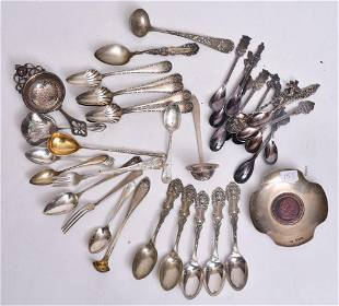 Sterling Silver and Silver Plated Flatware
