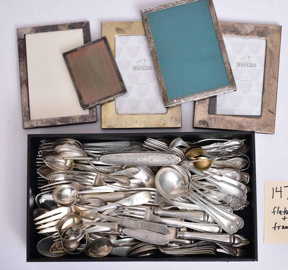 Sterling Silver Flatware and Frames