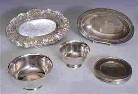 Sterling Silver Hollowware- Tiffany & Cartier