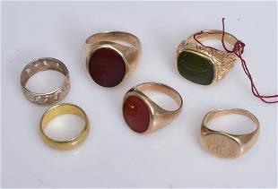 14k Gold Rings (6)