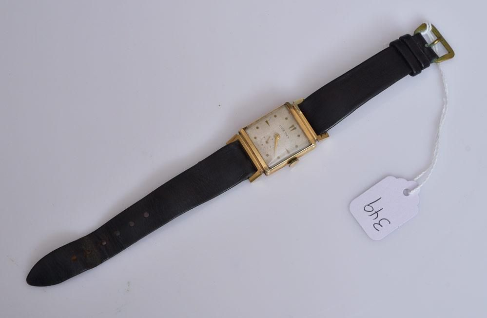 14k Gold Longines Gent's Wrist Watch