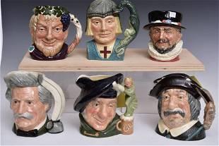 Royal Doulton Character Mugs (6)