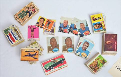 Group of Football and Non-Sports Cards